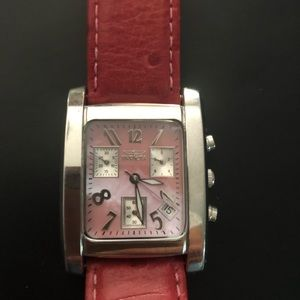 Invicta Angel watch with pink band